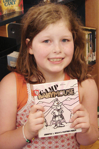 Claire Jones, Reader of the Week